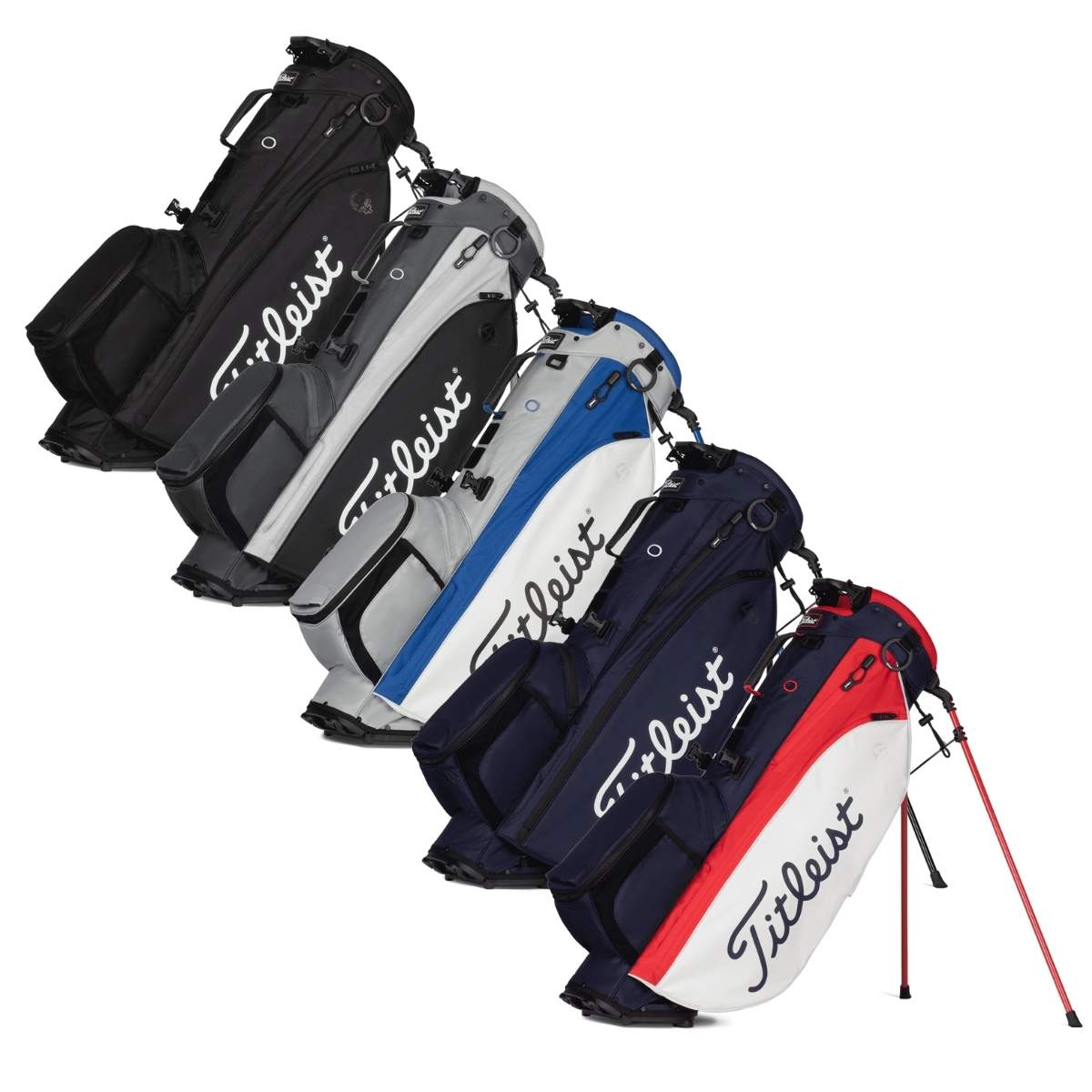 Titleist 2021 Players 4 Plus Stand Bag