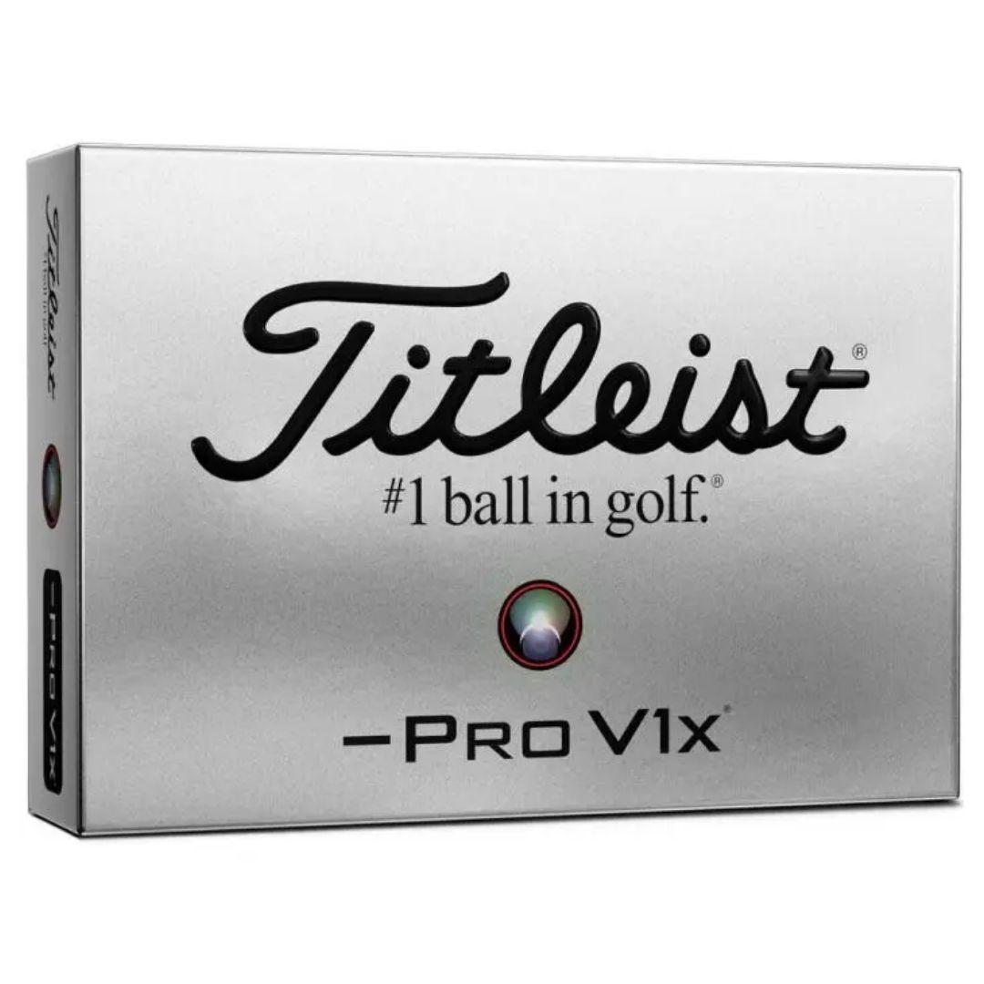 Titleist 2021 Pro V1X Left Dash Golf Balls