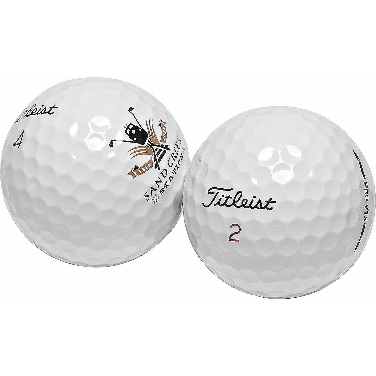 Titleist Pro V1 & Pro V1X Logo Overrun Golf Balls