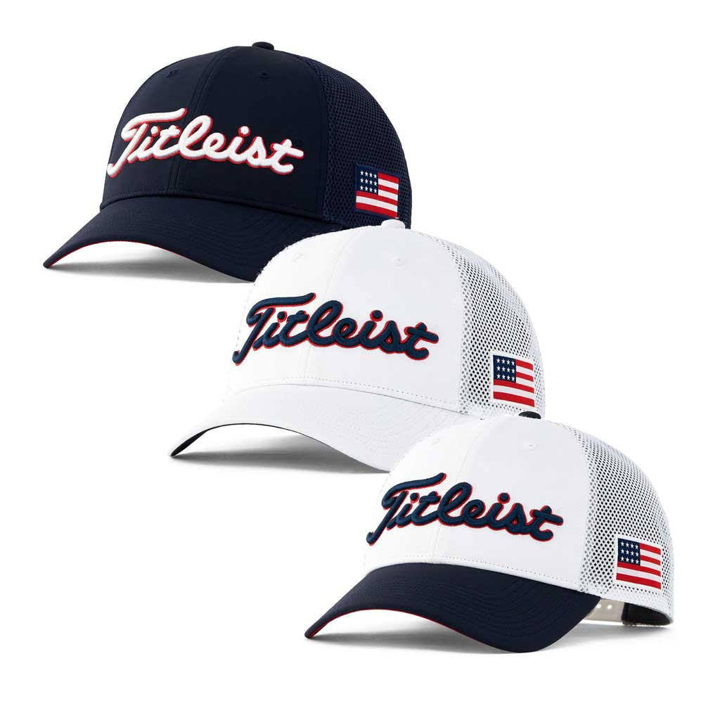 Titleist Stars and Stripes Tour Performance Mesh Cap