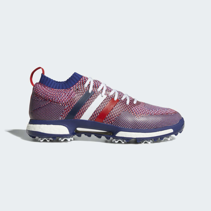 Adidas Tour365 Knit Golf Shoe - Blue/Red