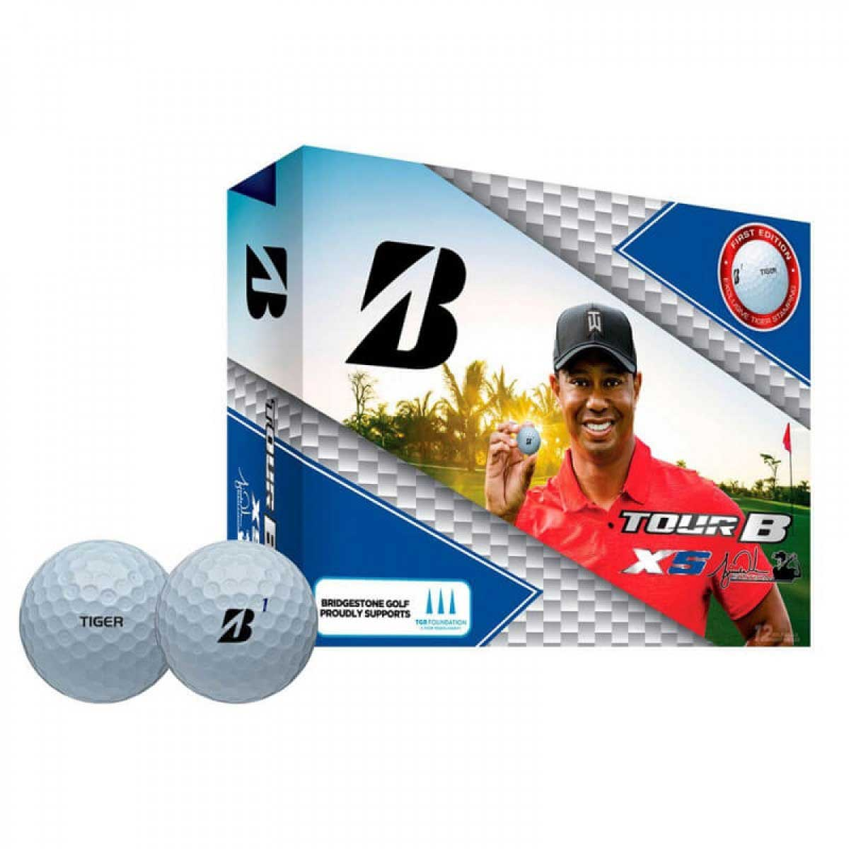 Bridgestone Tour B XS Tiger Woods Edition Golf Balls