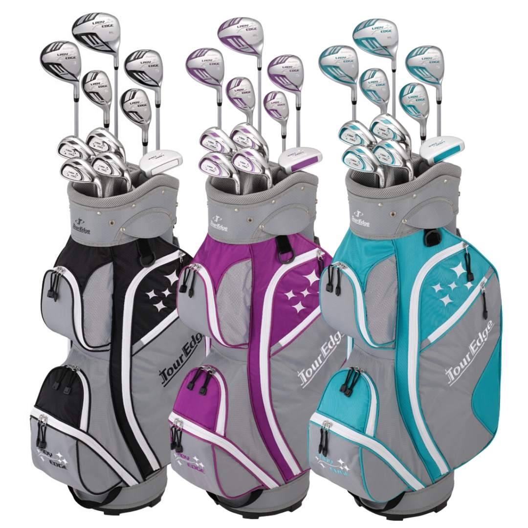 Tour Edge 2020 Women's Lady Edge Full Complete Set