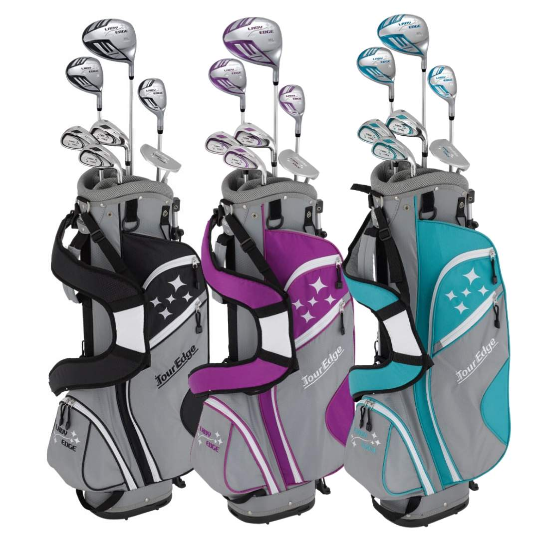 Tour Edge 2020 Women's Lady Edge Starter Complete Set