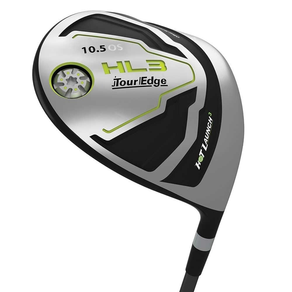 Tour Edge Mens Hot Launch 3 Offset Driver