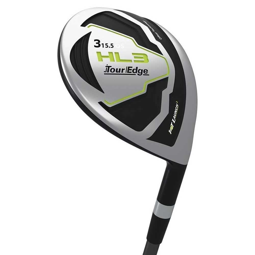 Tour Edge Mens Hot Launch 3 Offset Fairway Wood