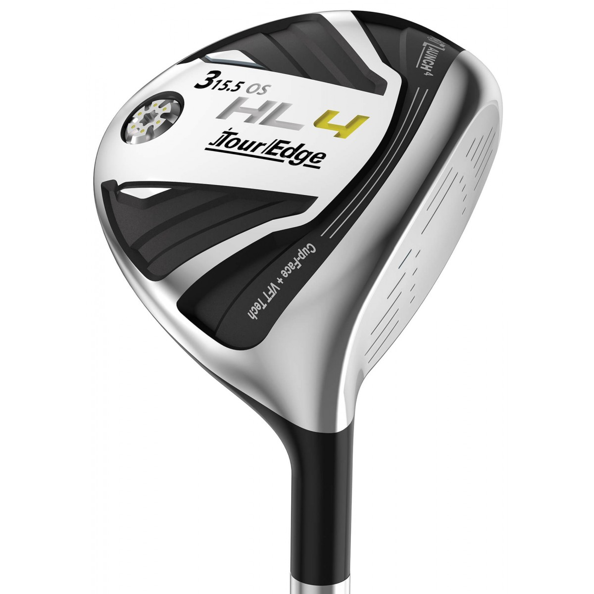 Tour Edge Men's Hot Launch 4 Offset Fairway Woods