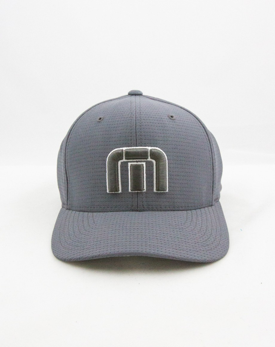 Travis Mathew B-Bahamas Flex-Back Fitted Cap Grey