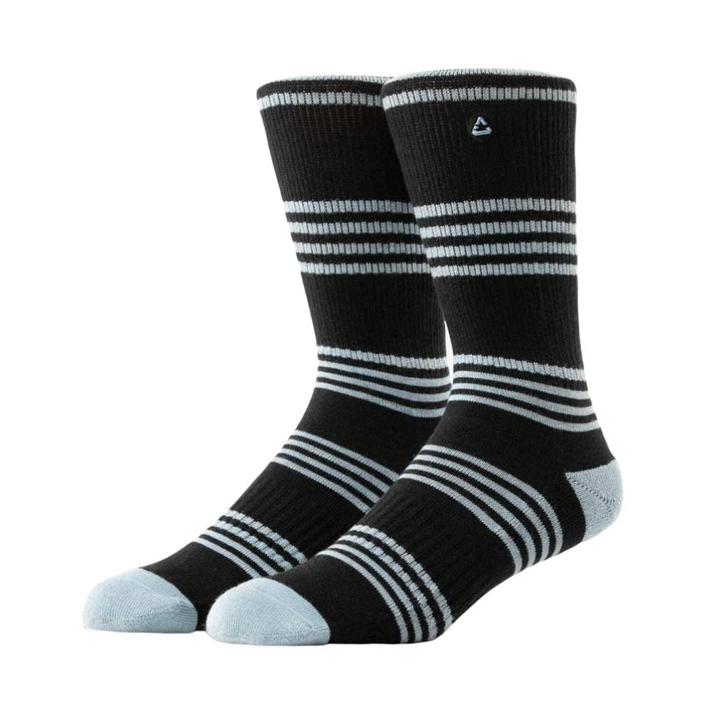 Travis Mathew Baby Face Black Socks