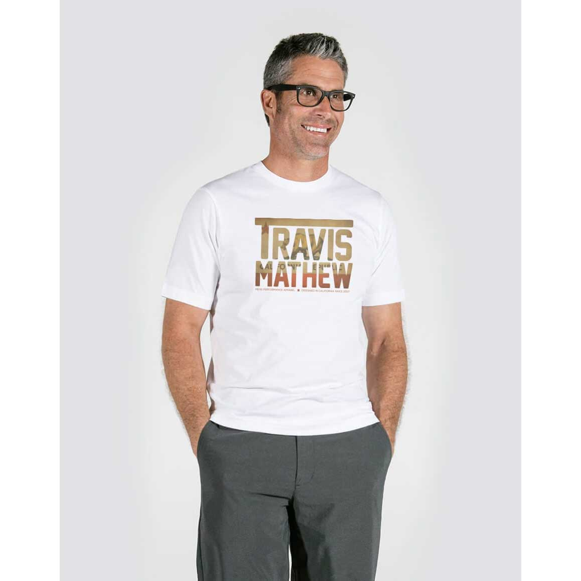 Travis Mathew Cali Bear T-Shirt