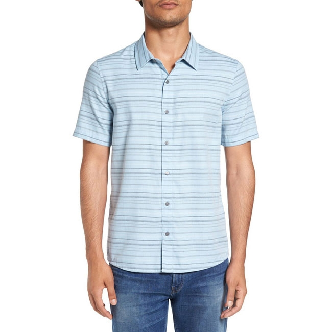 Travis Mathew Mens Alikov Button Up Shirt