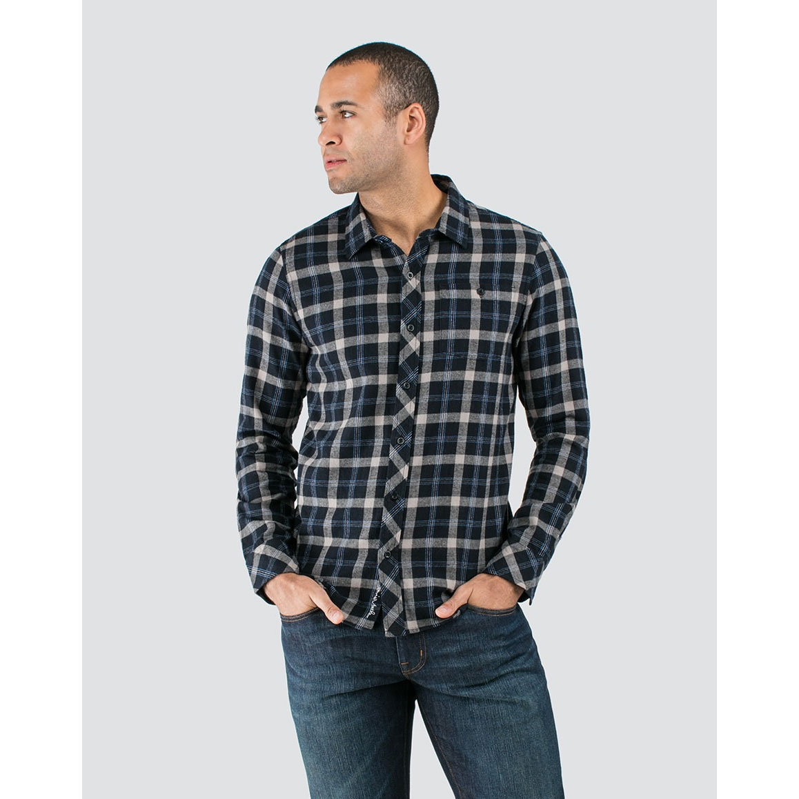 Travis Mathew Mens Braden Button Up Shirt