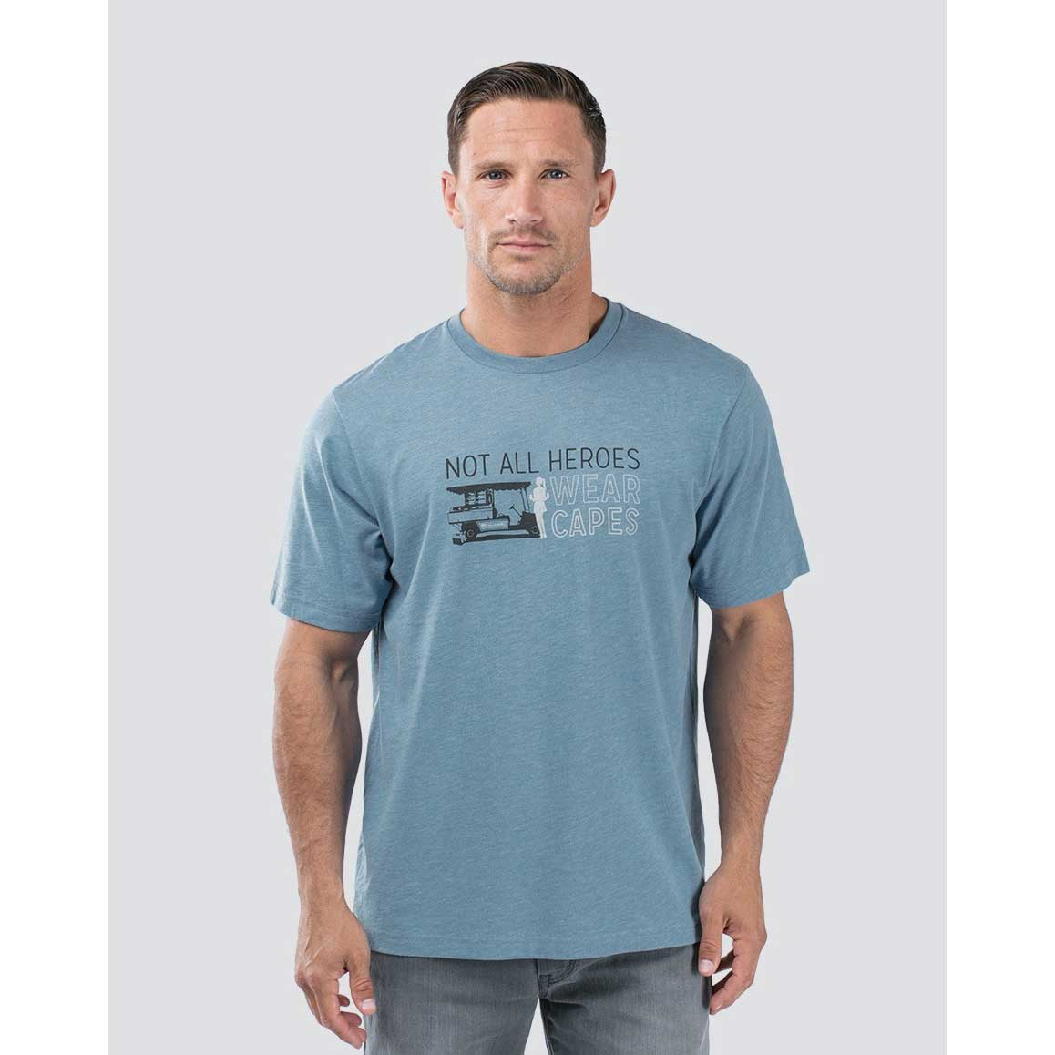 Travis Mathew Mens Not All Heroes Wear Capes T-Shirt