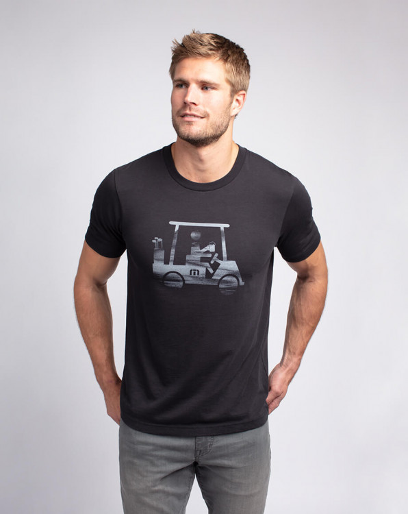 Travis Mathew On Board Black T-Shirt