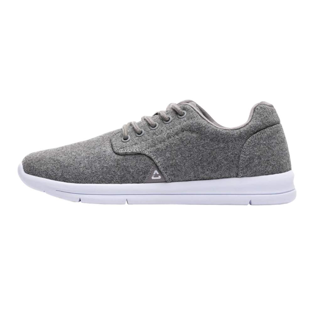 Travis Mathew The Daily Light Grey Wool Shoe