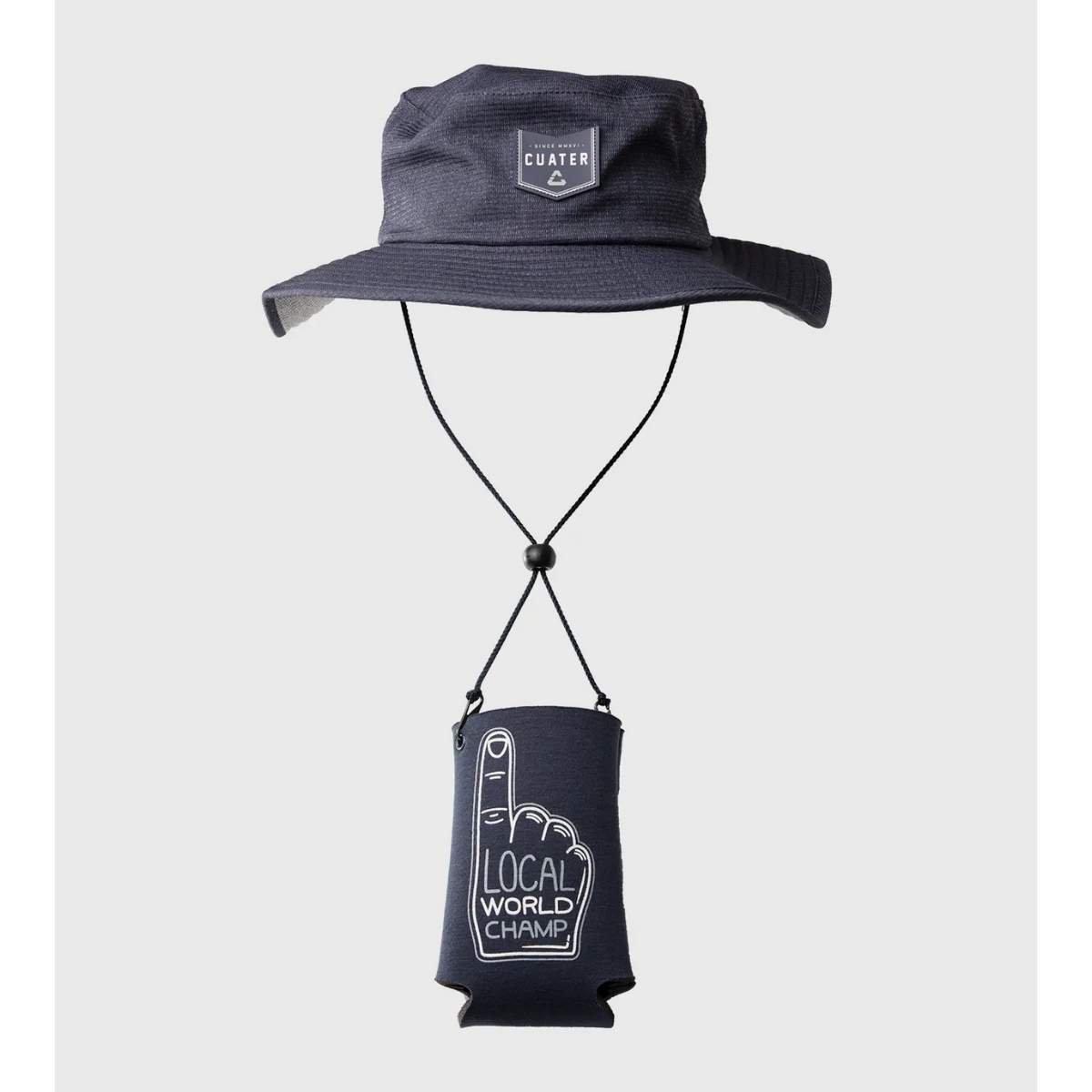 TravisMathew Challenger Bucket Hat And Koozie