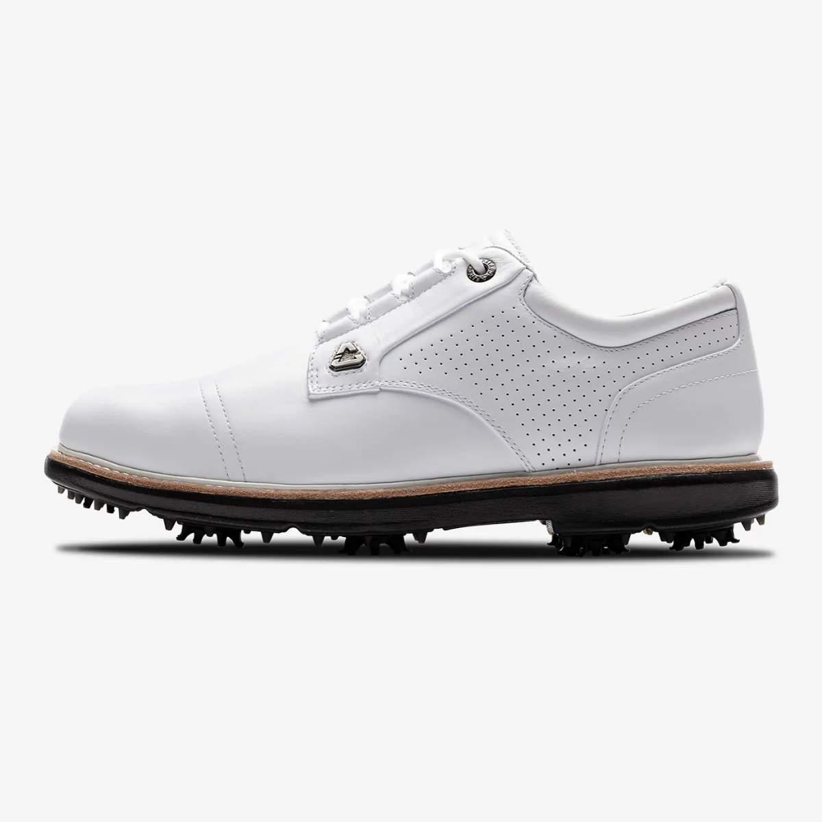TravisMathew Cuater The Legend White Golf Shoe