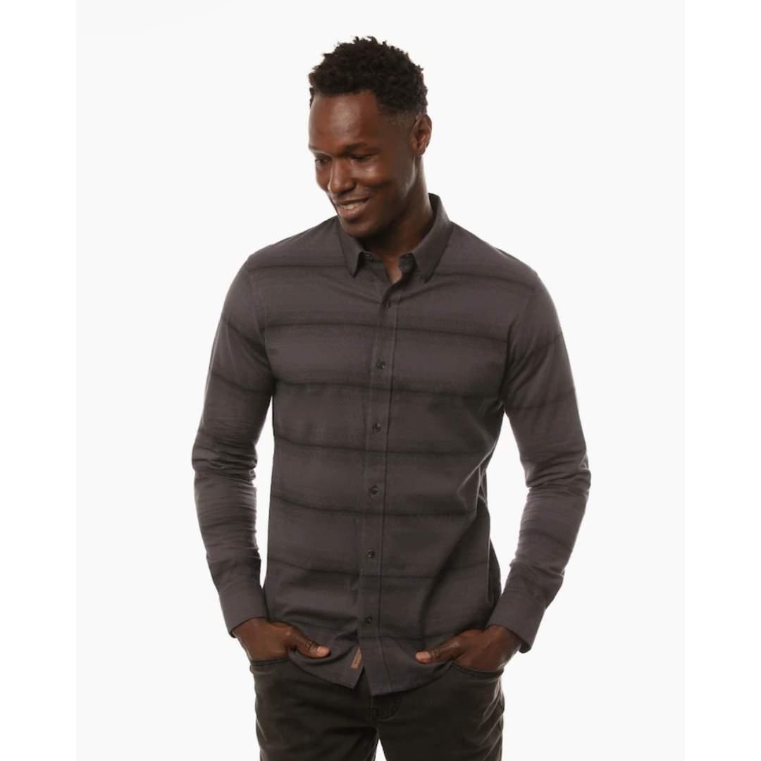 TravisMathew Zeke Long Sleeve Button Up Shirt