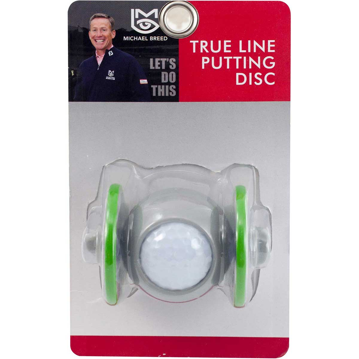 Michael Breed's True Line Putting Disc