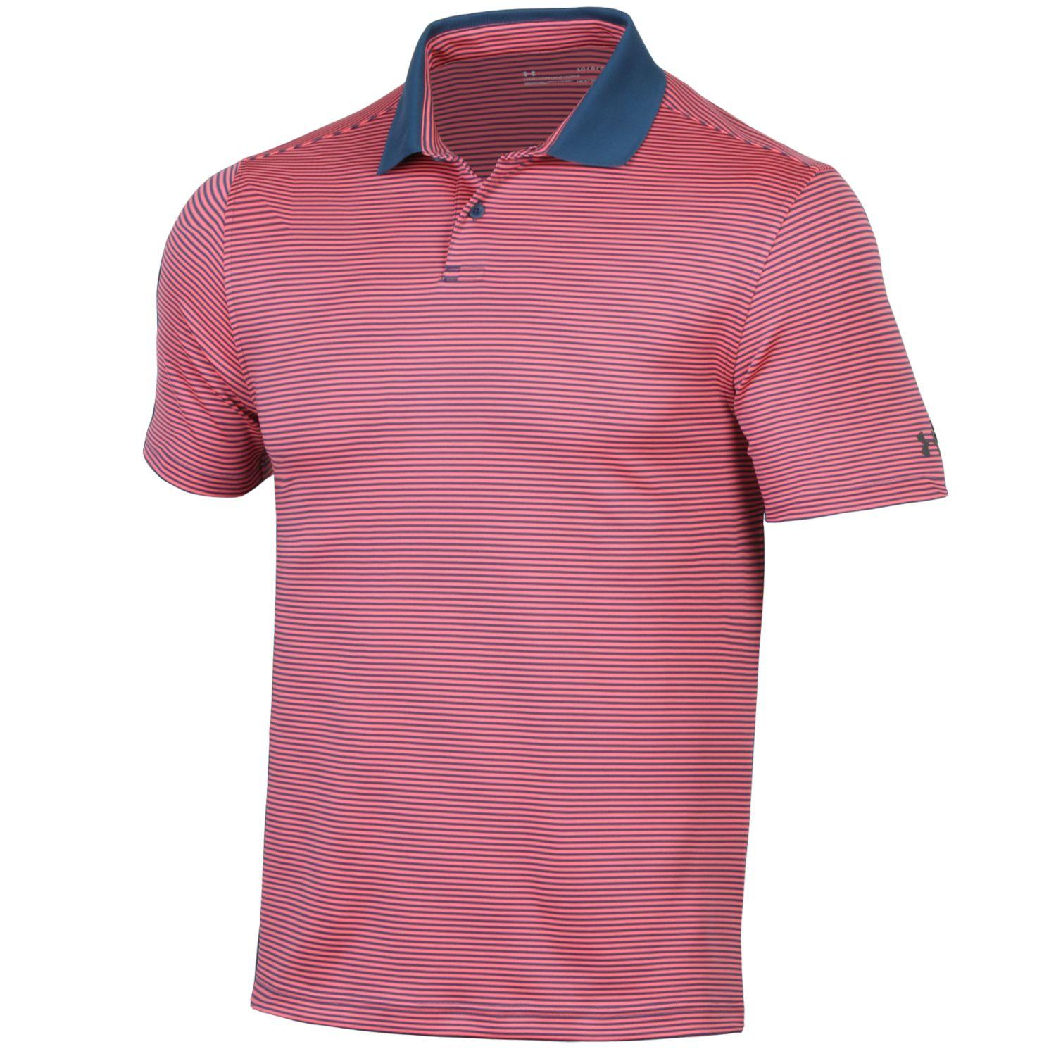 Under Armour Men's 2020 Performance Pin Stripe Polo