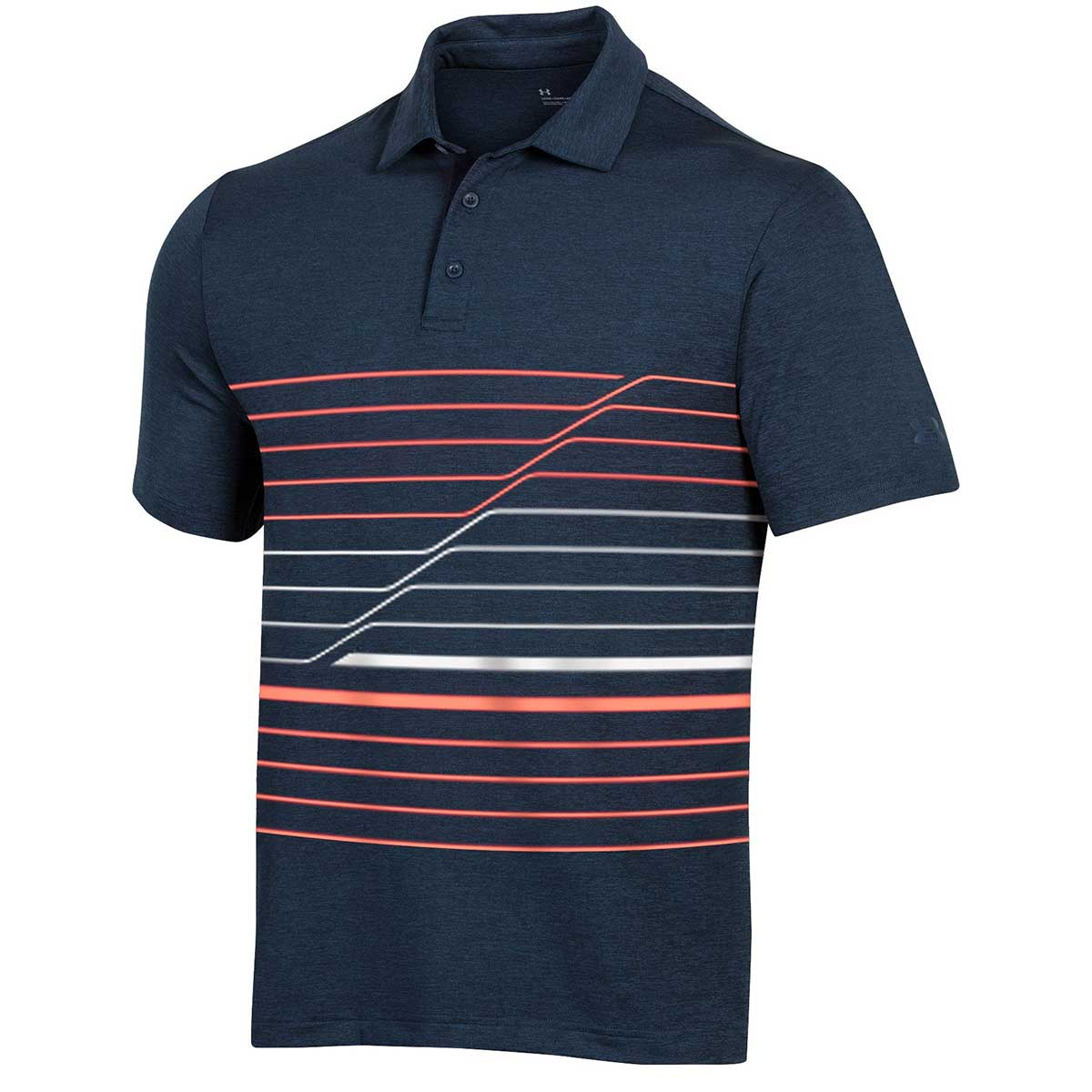 Under Armour Men's Playoff 2.0 Incline Stripe Polo