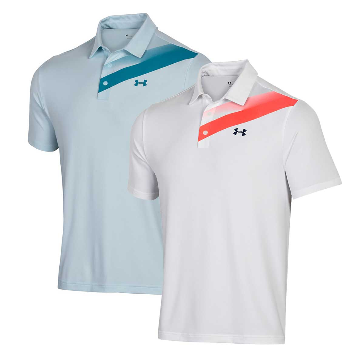 Under Armour Men's Playoff 2.0 Slice Graphic Polo