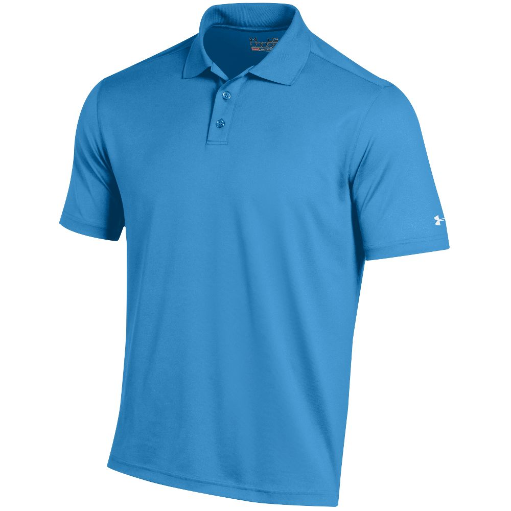 Under Armour 2017 Men's Performance Solid Polo Blue