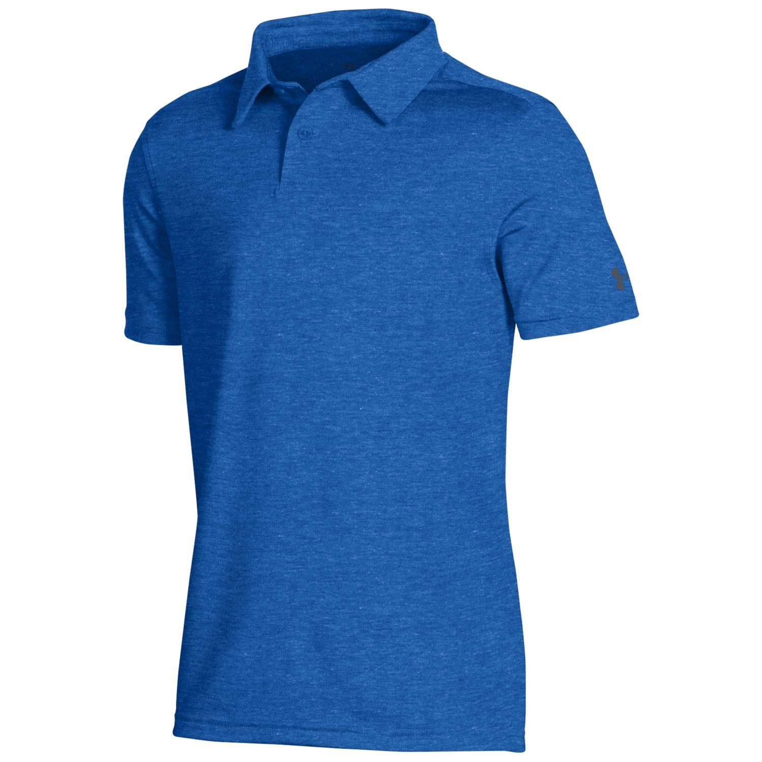Under Armour Boys 2019 Playoff 2.0 Heather Polo