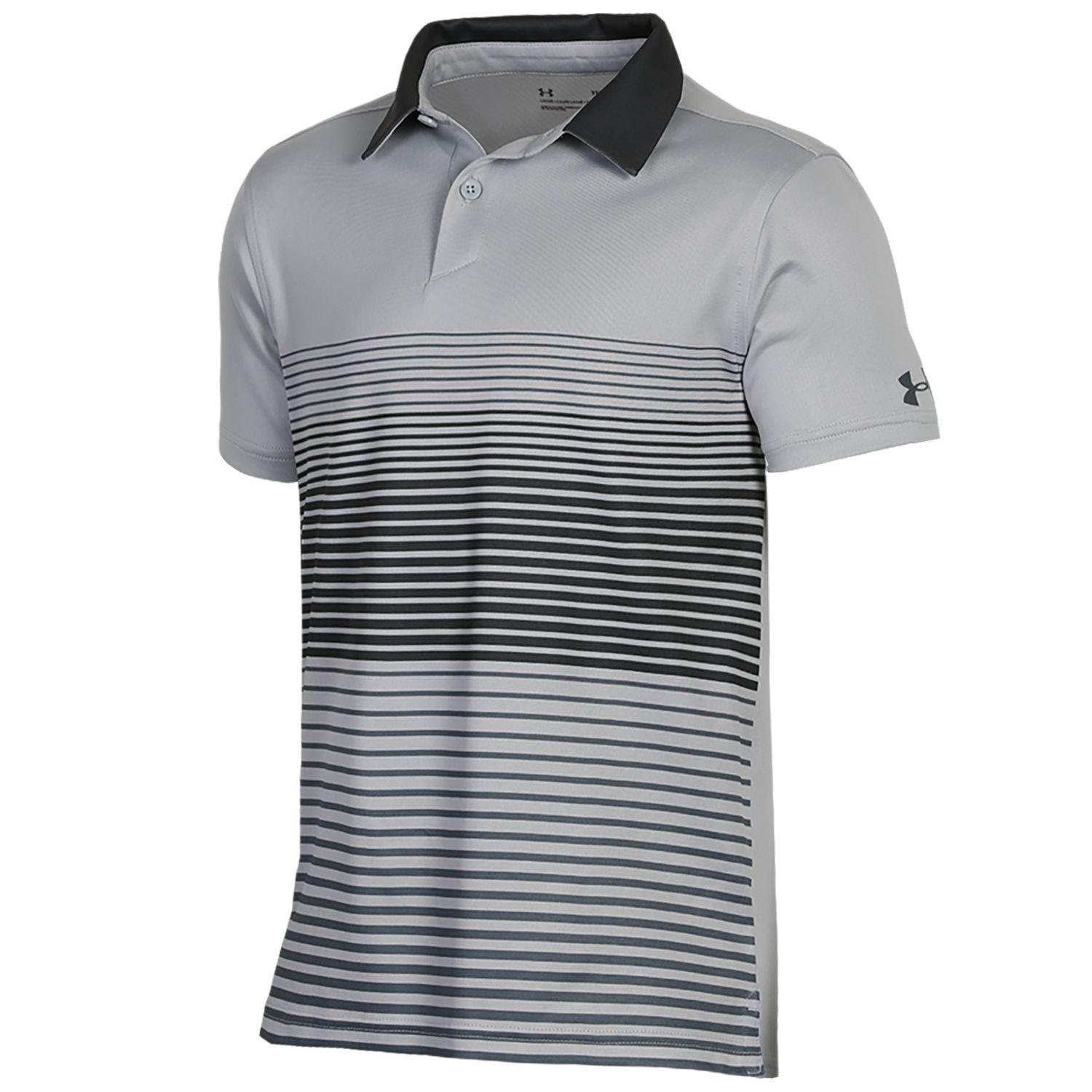 Under Armour Boys Power Play Polo