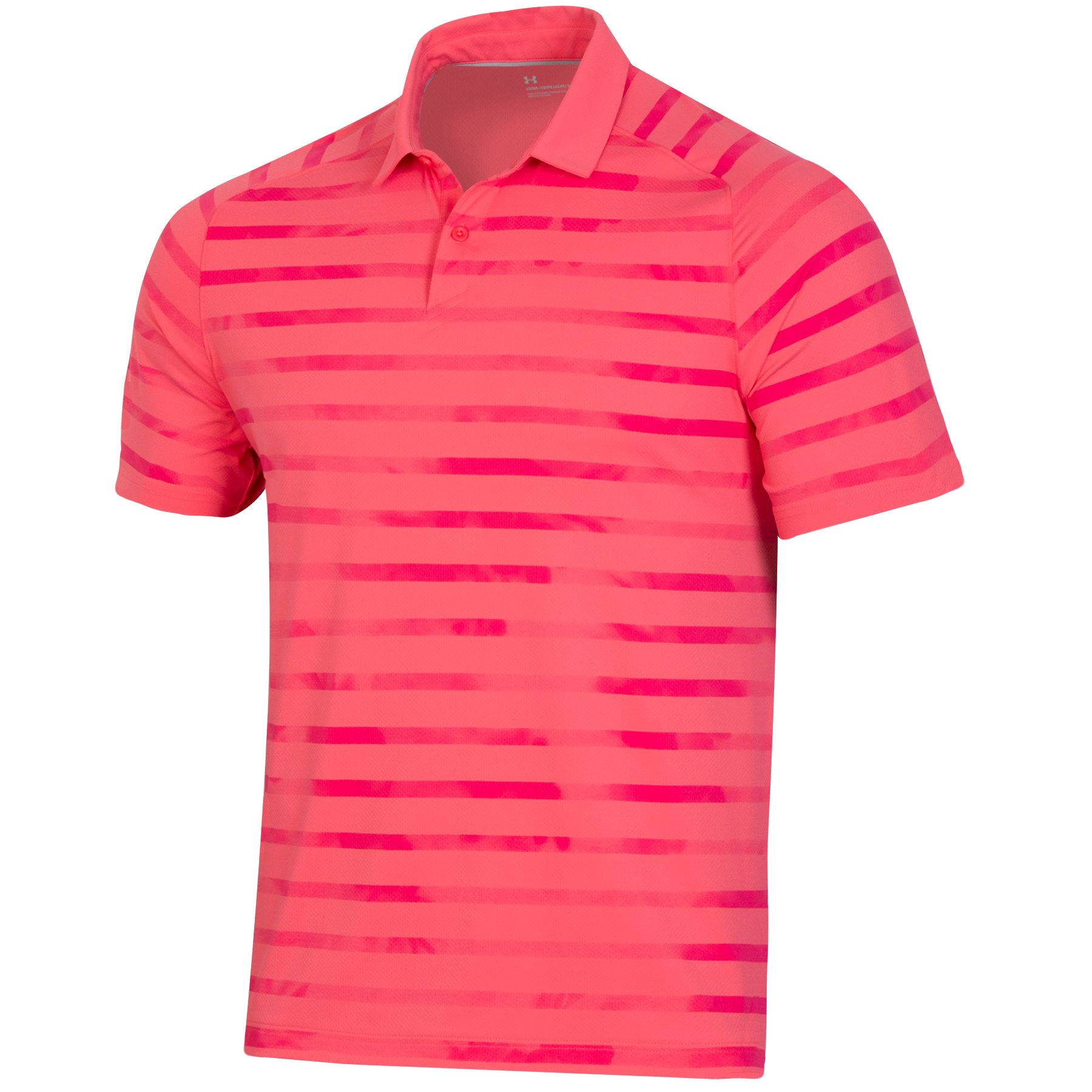 Under Armour Men's 2021 ISO-Chill Mixed Stripe Polo