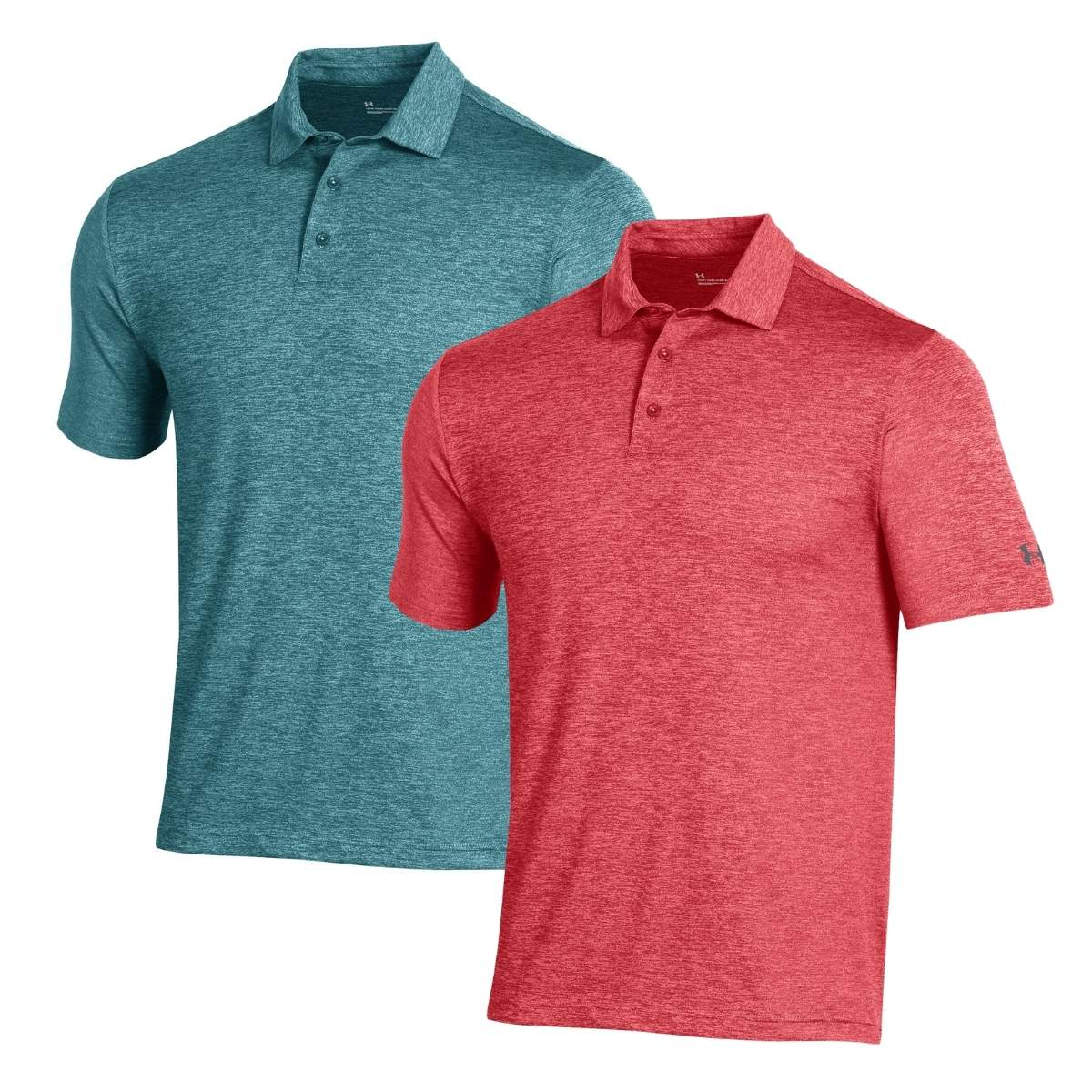 Under Armour Men's 2021 Playoff 2.0 Heather Polo