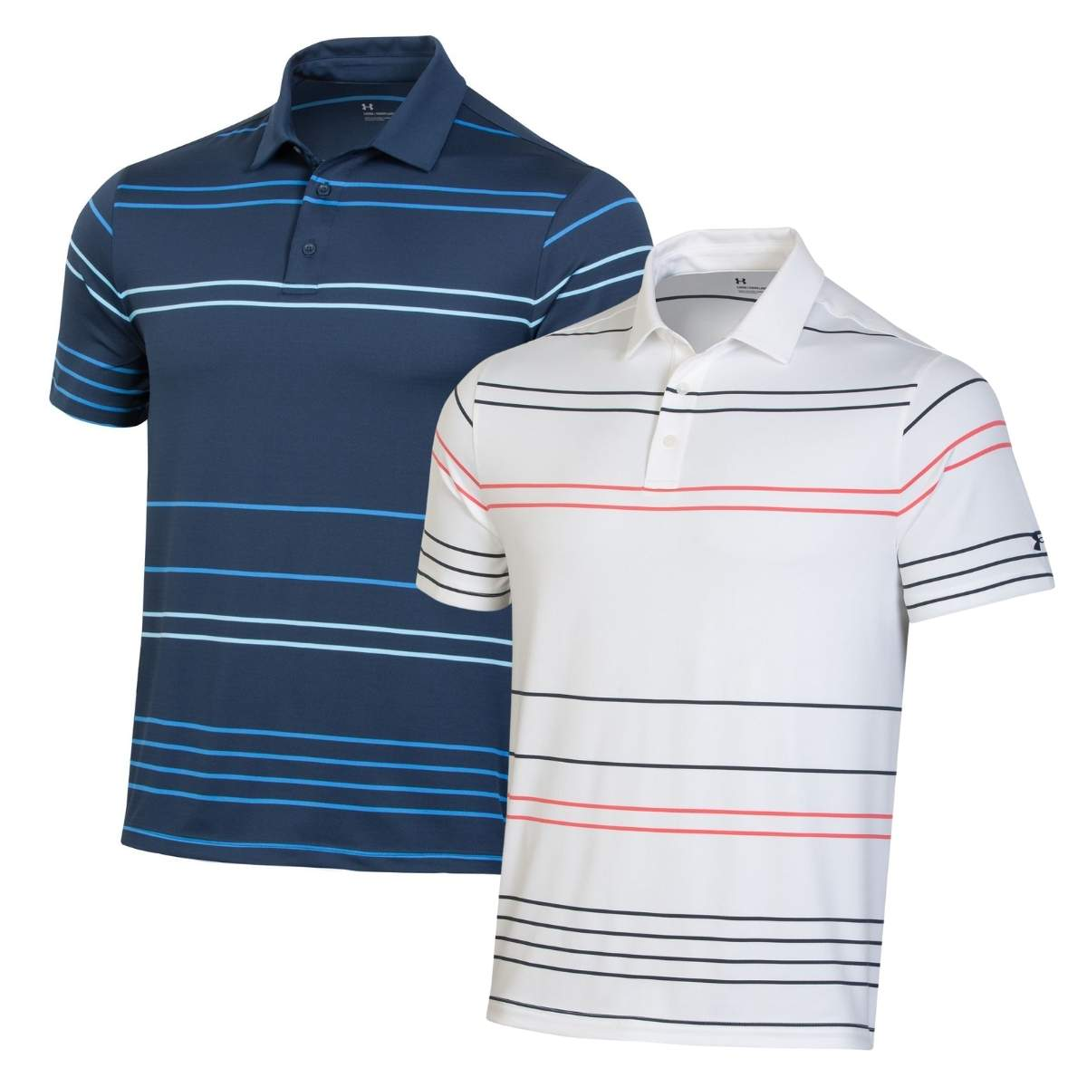 Under Armour Men's 2021 Playoff 2.0 Pitch Stripe Polo
