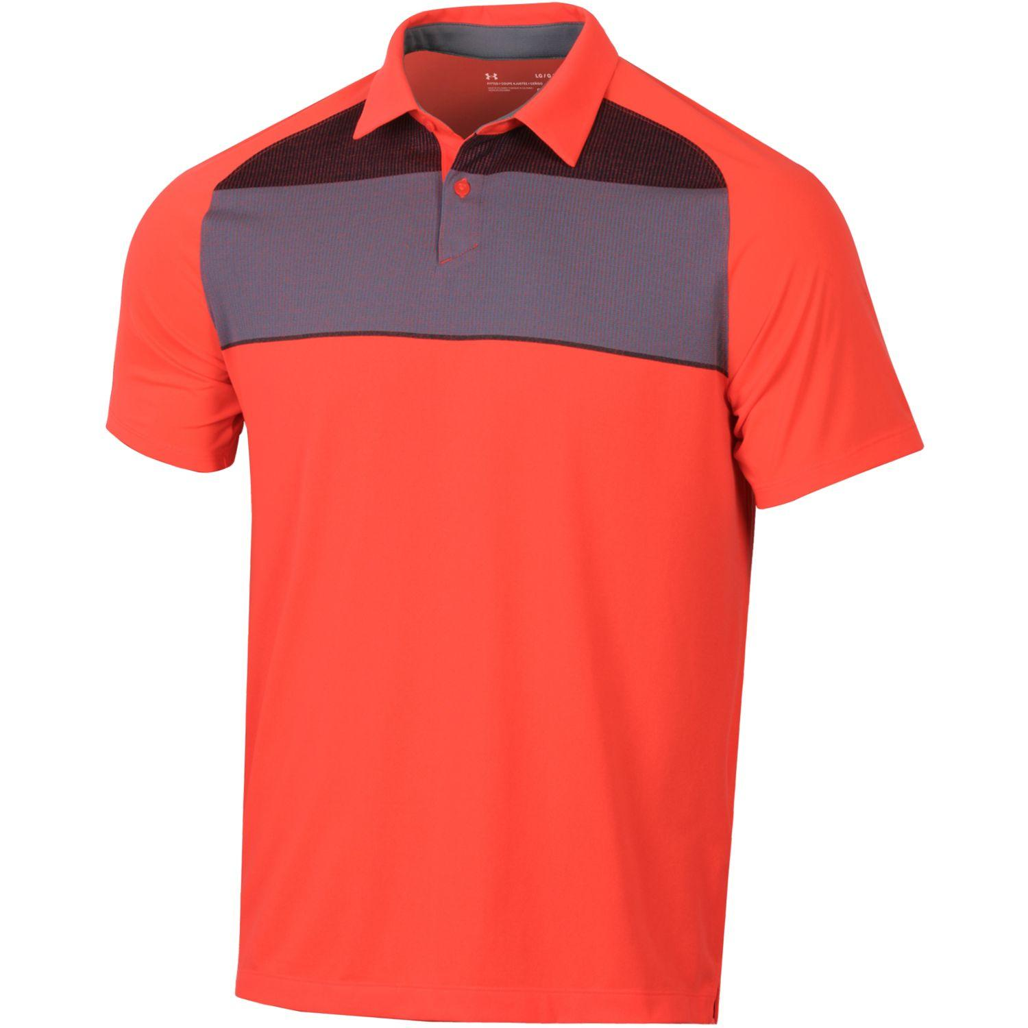 Under Armour Mens Threadborne Infinite Polo