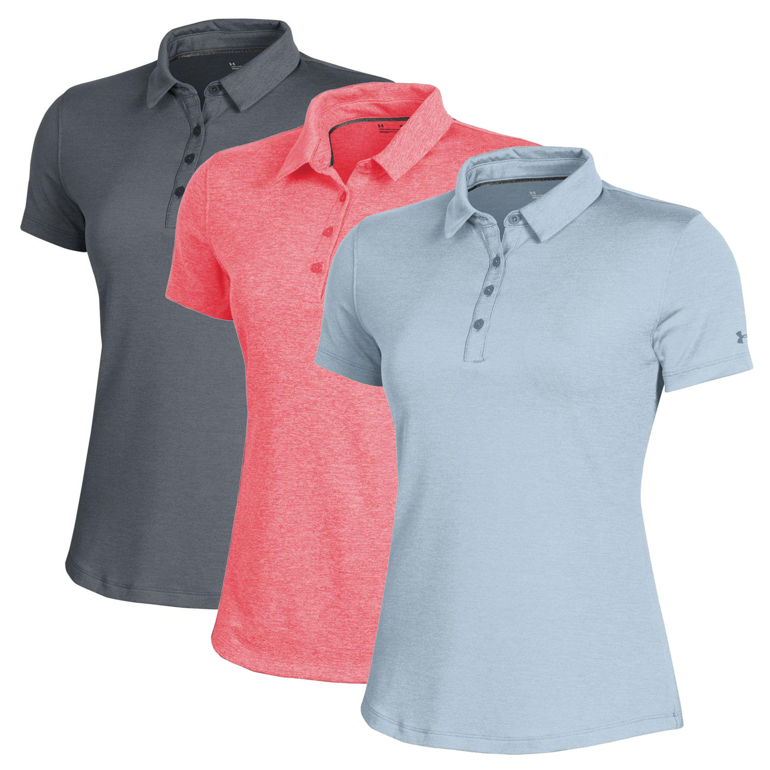 Under Armour Women's 2019 Zinger 2.0 Heather Polo