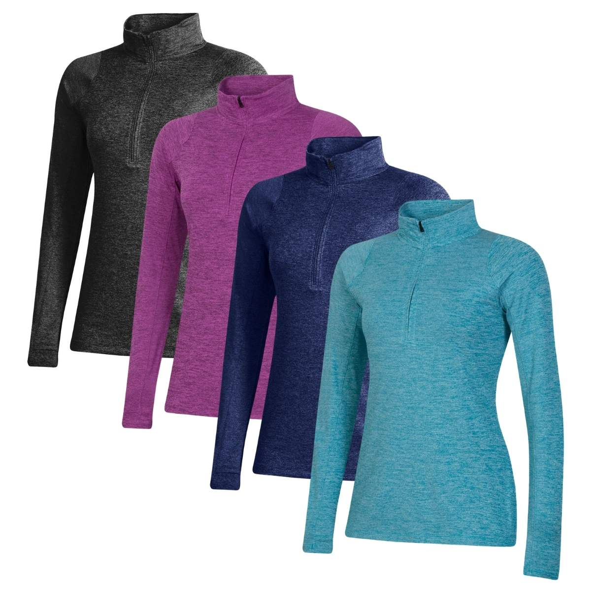 Under Armour Women's 2021 Zinger Heather 1/2 Zip Pullover