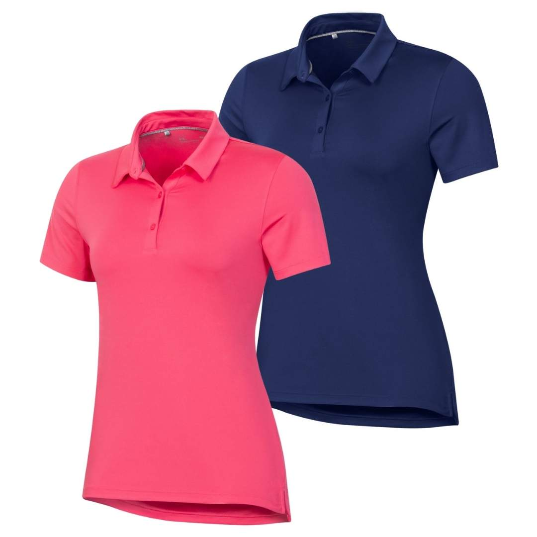 Under Armour Women's 2021 T2 Green Solid Polo