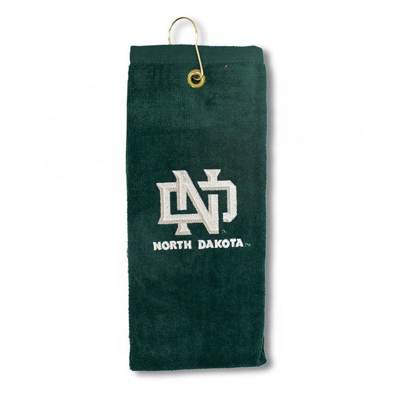 University of North Dakota Embroidered Tri-Fold Golf Towel