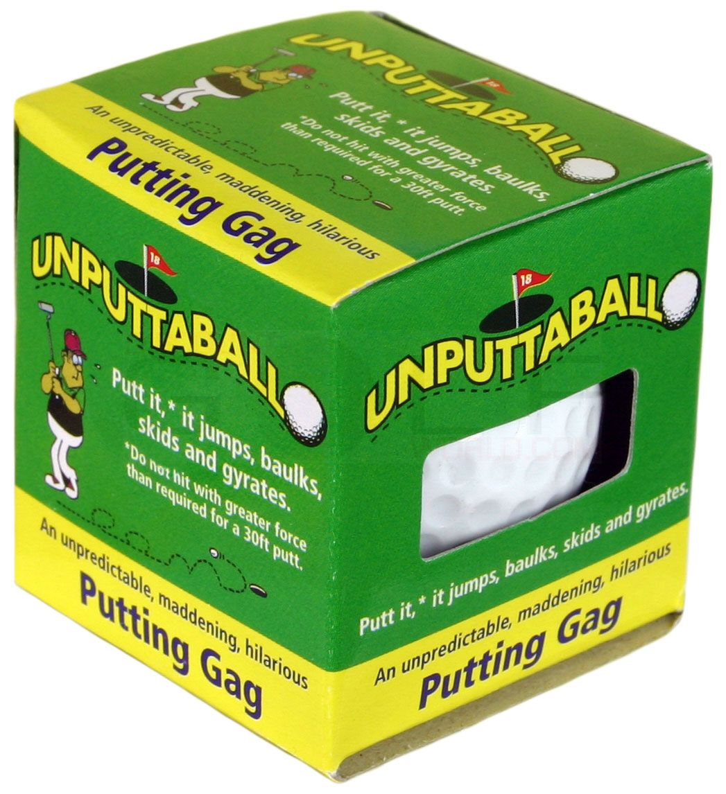 Unputtable Wobbler Trick Golf Ball