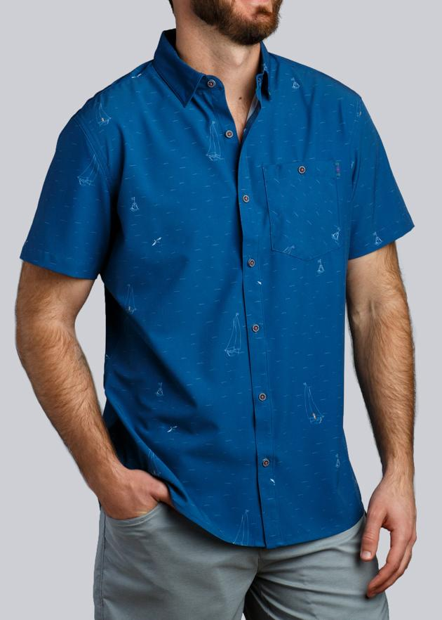 William Murray What About Bill Button Down Short Sleeve Shirt