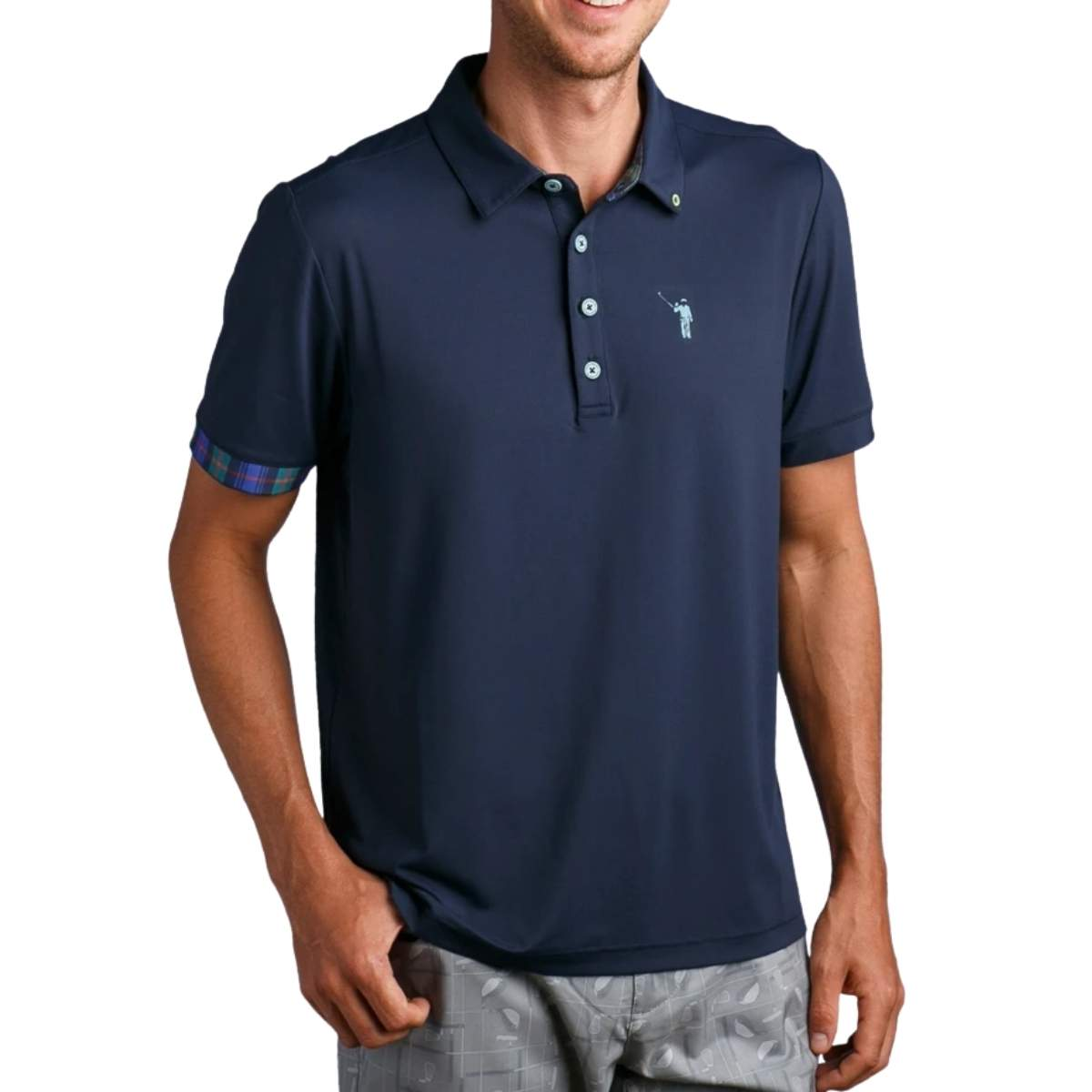 William Murray Classic Solid Navy Polo