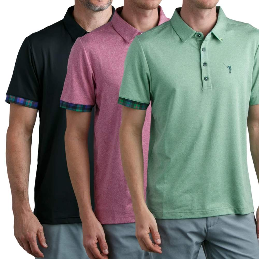 William Murray Classic Solid Polo