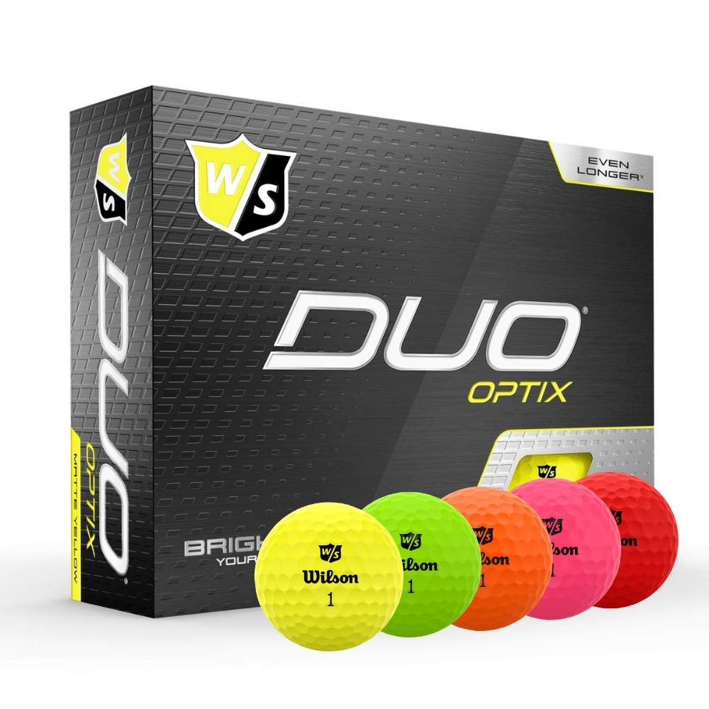 Wilson 2020 Duo Optix Golf Balls
