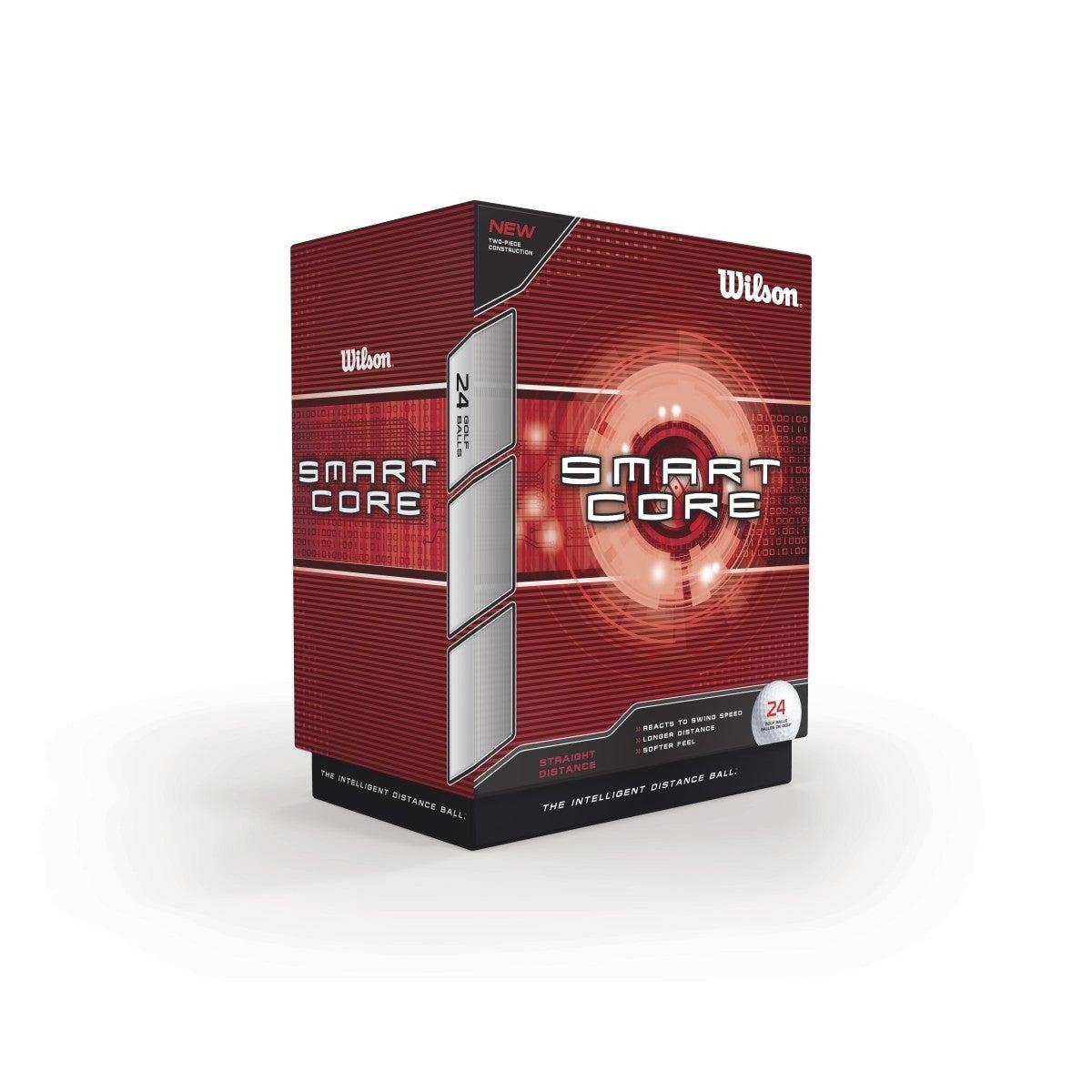 Wilson Smart Core 24 Pack Golf Balls