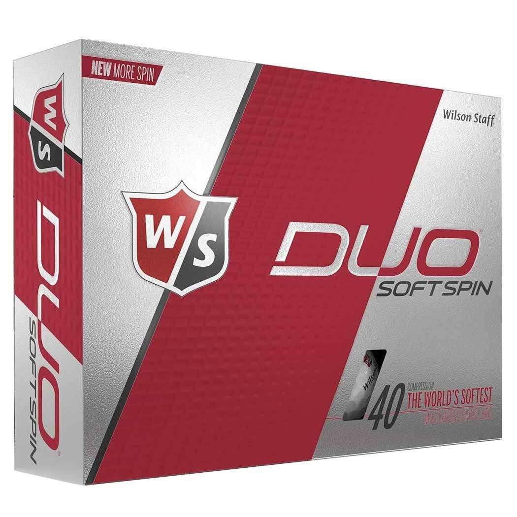Wilson Staff Duo Spin Personalized Golf Balls
