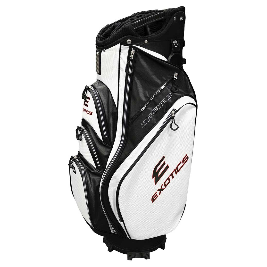Tour Edge Women's Exotics Xtreme 3 Cart Bag Black/White