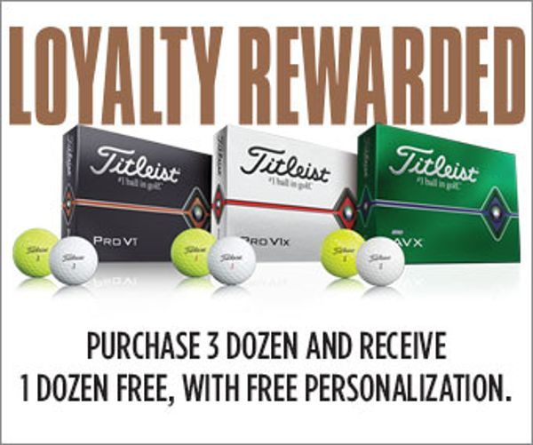 Titleist Loyalty Rewarded