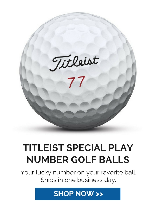 Titleist Special Play Number Balls